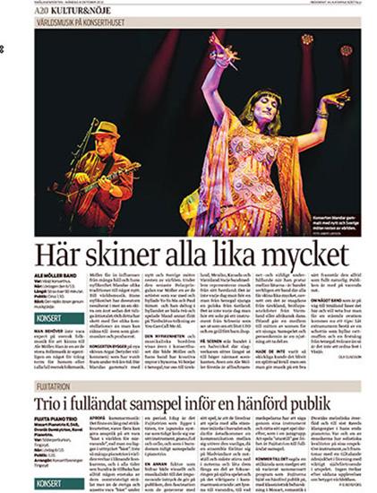 Ale Möller Band - Smålandsposten