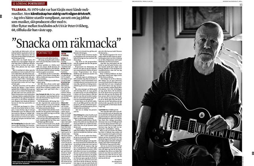 Peter O Ekberg - Smålandsposten
