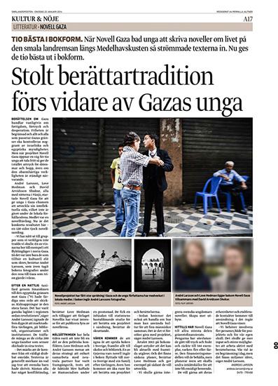 Novell Gaza - Smålandsposten