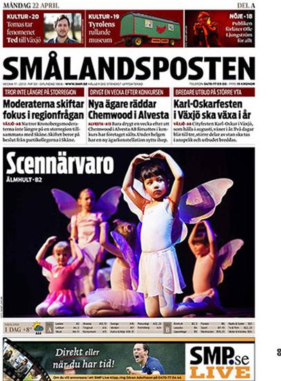 Dansuppvisning i Älmhult - Smålandsposten