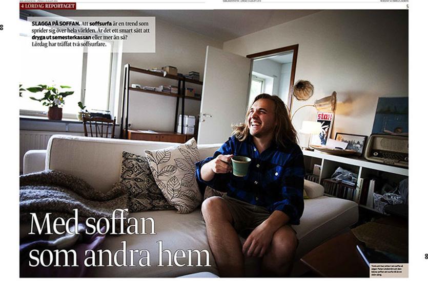 Couchsurfing - Smålandsposten