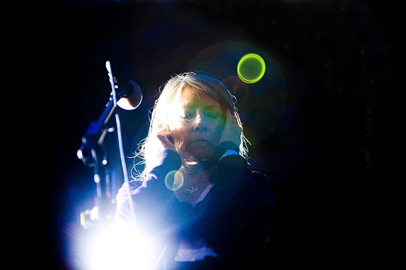 Sonic Youth på Siestafestivalen i Hässleholm 2009