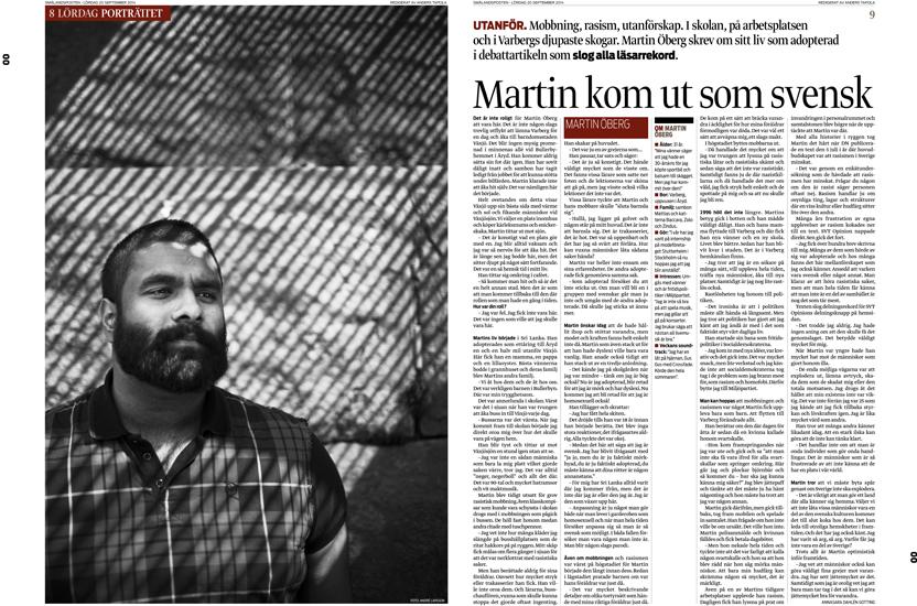 Martin Öberg - Växjö Smålandsposten