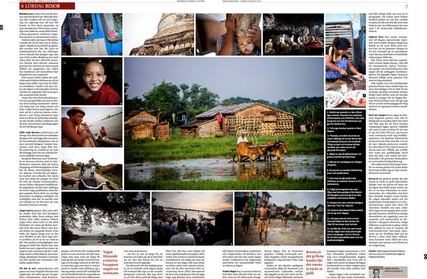 Burma resereportage - Smålandsposten